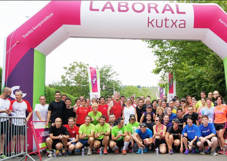 Charity wins the first run organised by MUNDUKIDE