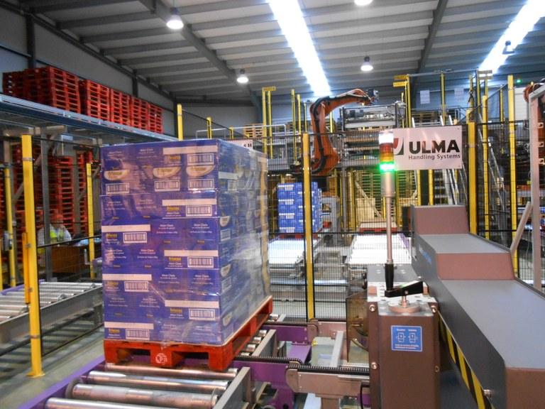 Conservas Friscos opts for logistical automation in collaboration with ULMA Handling Systems