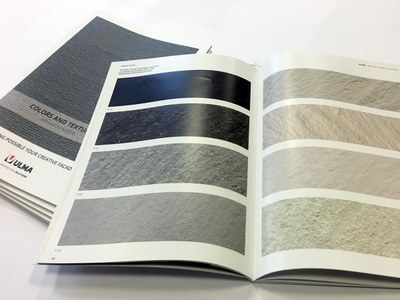 Discover the new colours and textures catalogue