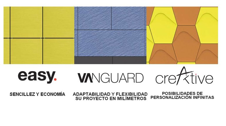 Discover ULMA Architectural Solutions' new Creaktive, Easy and Vanguard Façades