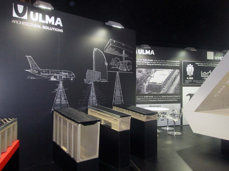 Drainage Solutions at the Munich BAU Trade Fair