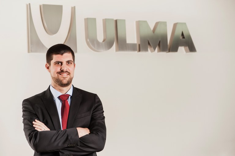 Eñaut Sarriegi, services new director of ULMA Handling Systems