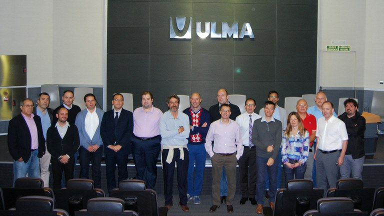 European T-REX project monitoring meeting hosted by ULMA Forklift trucks