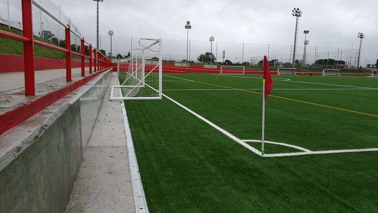 GAMA SPORT for the football pitch of Sporting de Gijón