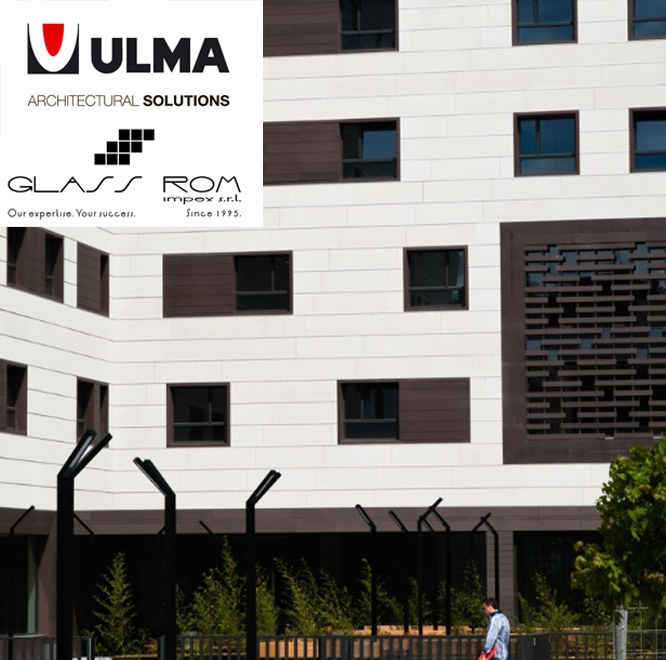 Glass Rom Impex, authorised distributor of ULMA Façades