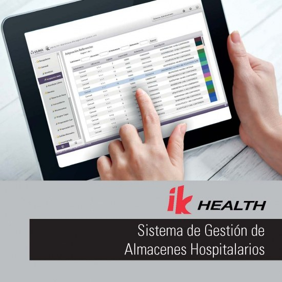 Hospital logistics focussed Warehouse Management System (WMS)