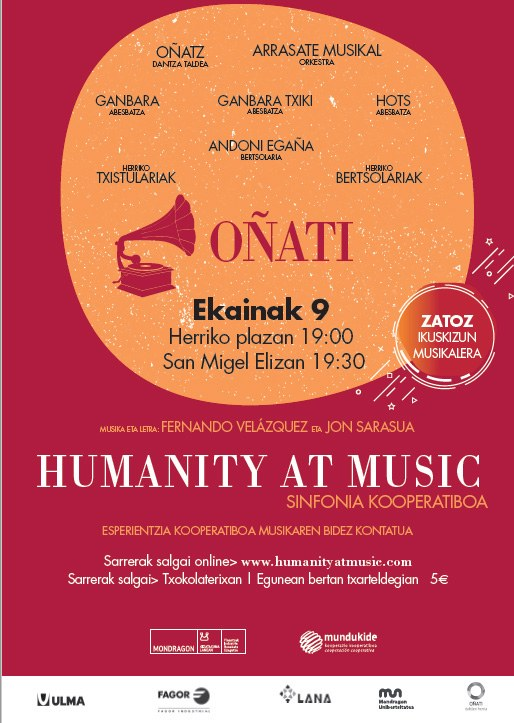 Humanity and Music Concert in the Parish of Oñati