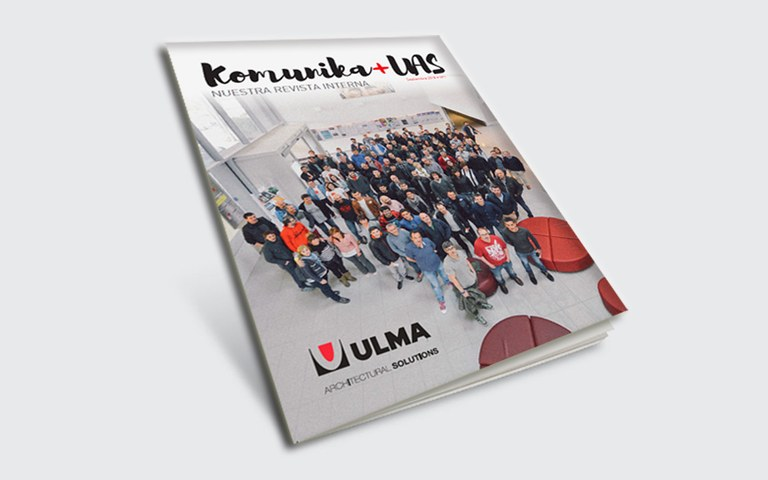 KOMUNIKA+UAS: The new internal magazine of ULMA Architectural Solutions