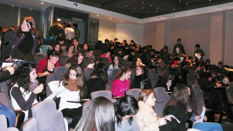 More than 100 teenagers took part in the two reflective cinema sessions organised by ULMA Group