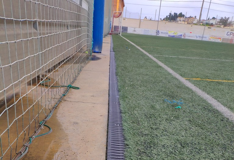 More than 11,000 ULMA special gratings on 24 football pitches in Malaga