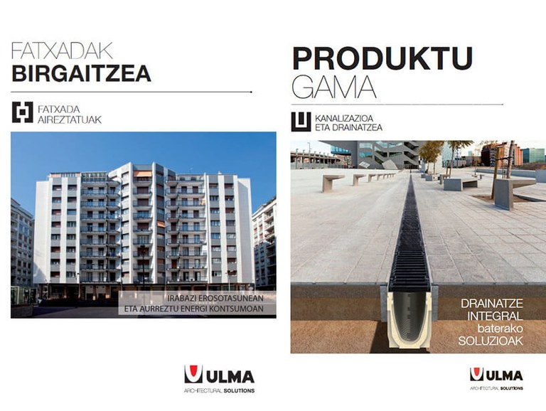 New commercial and corporate support systems of ULMA Architectural Solutions in the Basque language