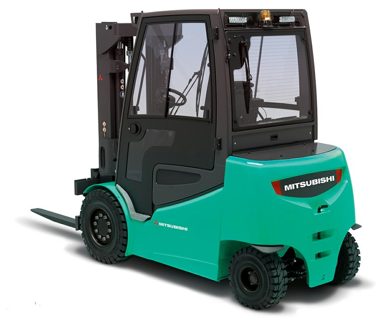 New series of 4 and 5 tonne electric counterbalanced forklift trucks from Mitsubishi