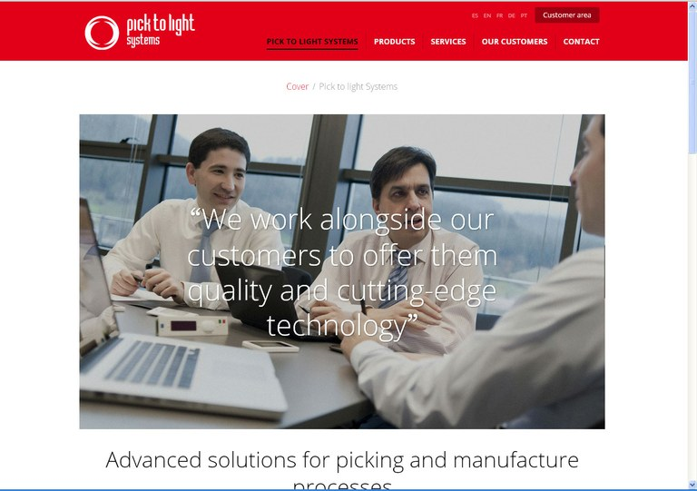 PICK TO LIGHT SYSTEMS launches its new digital image