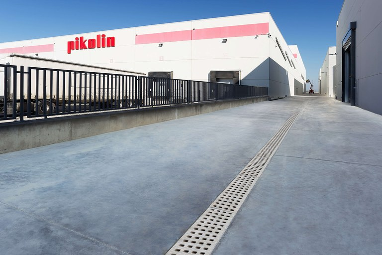 Pikolin relies on ULMA Drainage for its new plant in Zaragoza