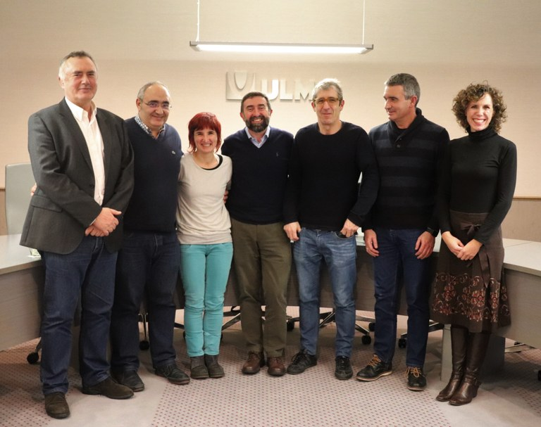 Representatives of the Basque Government in the ULMA Group