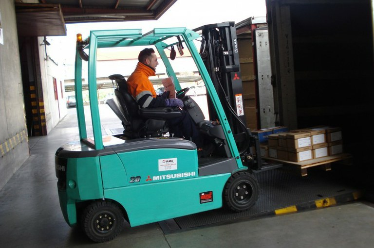 The Moldtrans Group replace their diesel counterbalance fork-lift trucks with electric ones