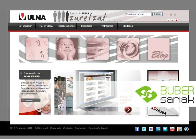 The ULMA Foundation is a finalist in the 2012 Buber Awards