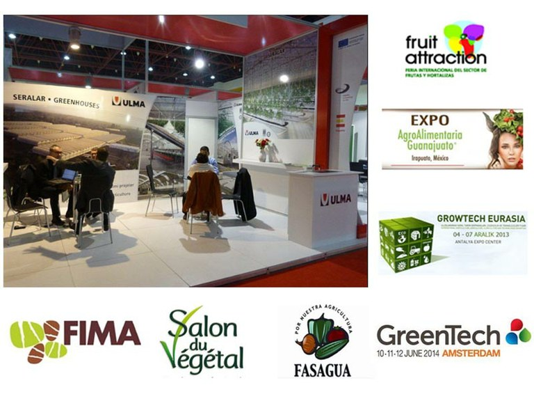 ULMA Agrícola attends sector trade shows worldwide