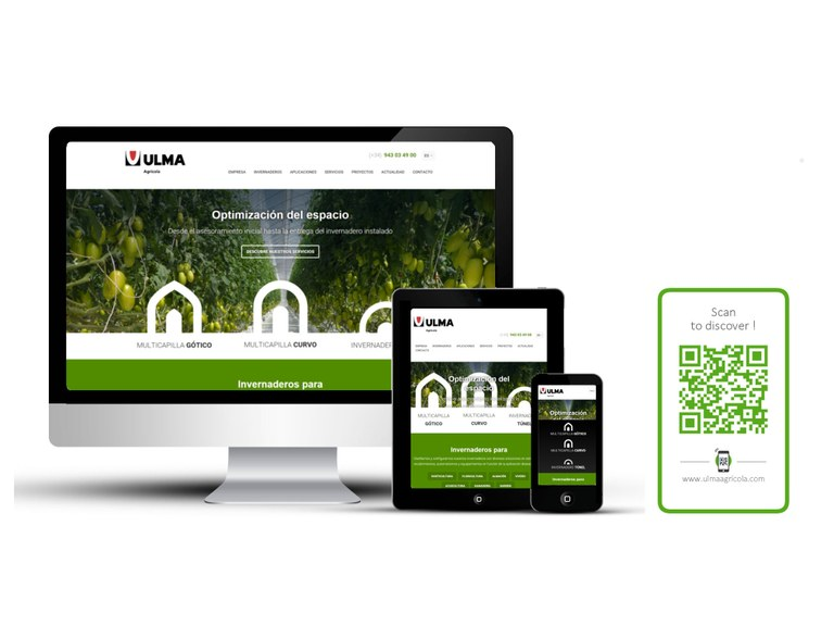 ULMA Agrícola has a new website with responsive design.
