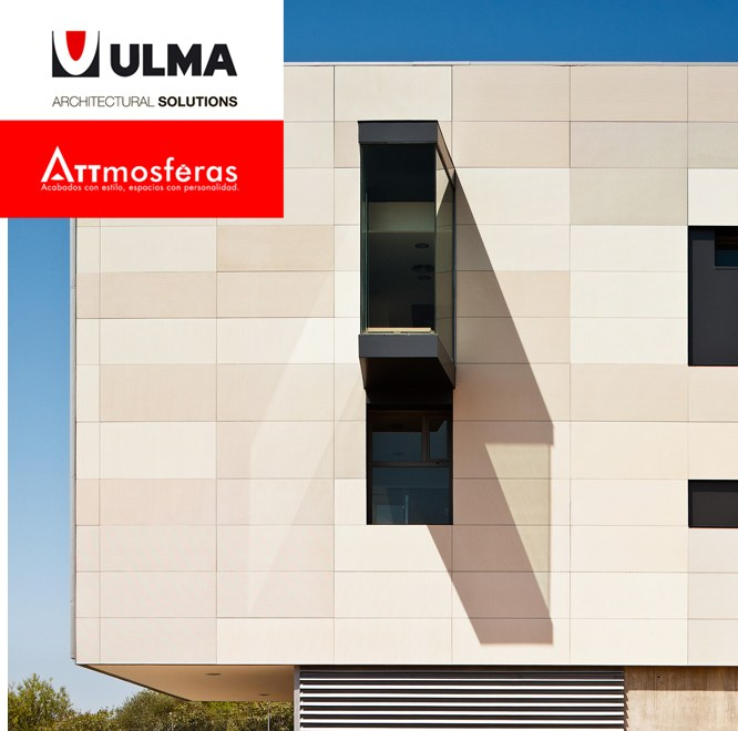 ULMA and Attmosféras market Rainscreen Cladding in Colombia