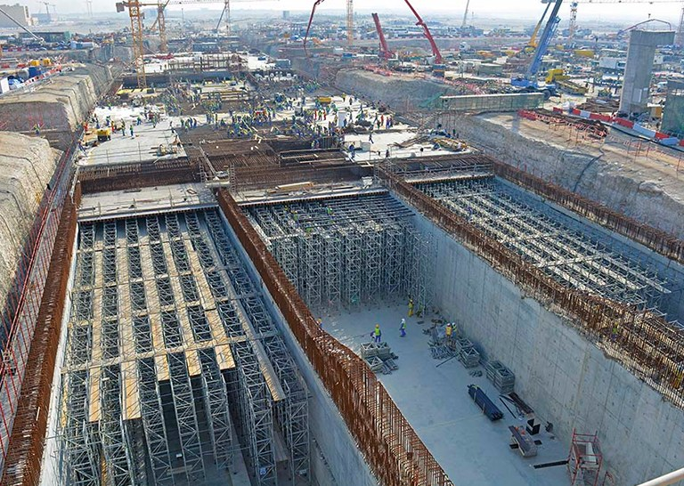 ULMA and its distributor DELMON have participated on the construction of the Lusail Boulevard Tunnel, Qatar