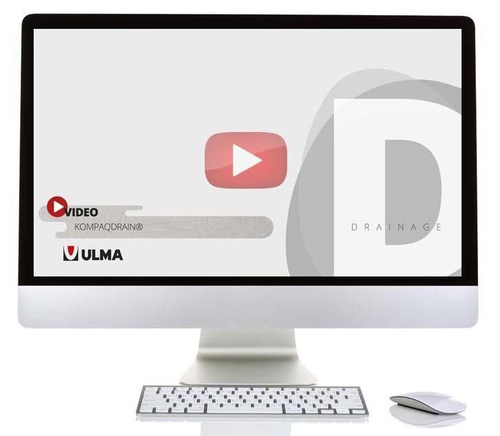 ULMA Architectural Solutions launches a new video to explain the 3 models of KOMPAQDRAIN® channels