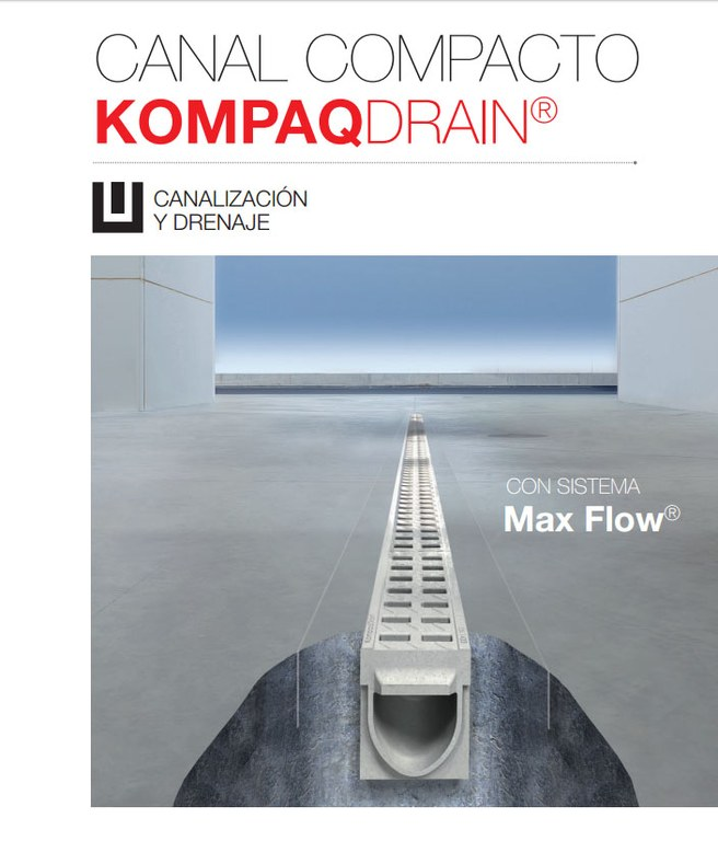 ULMA ARCHITECTURAL SOLUTIONS LAUNCHES THE NEW KOMPAQDRAIN® CATALOGUE