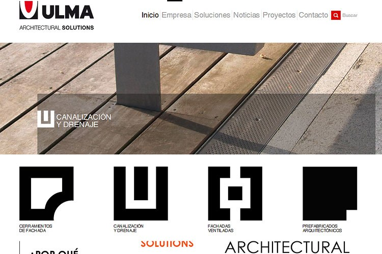 ULMA Architectural Solutions new website is a finalist in the Diario Vasco awards