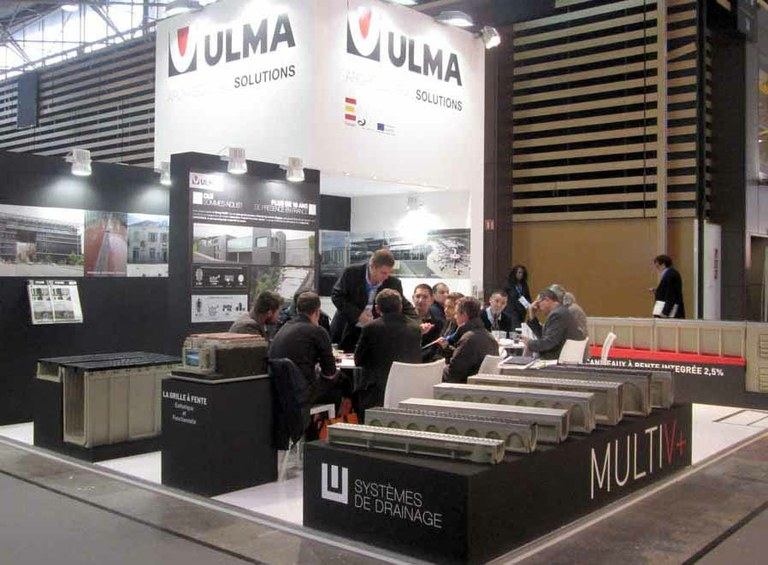 ULMA Architectural Solutions presents its drainage solutions at the Lyon Pollutec Fair