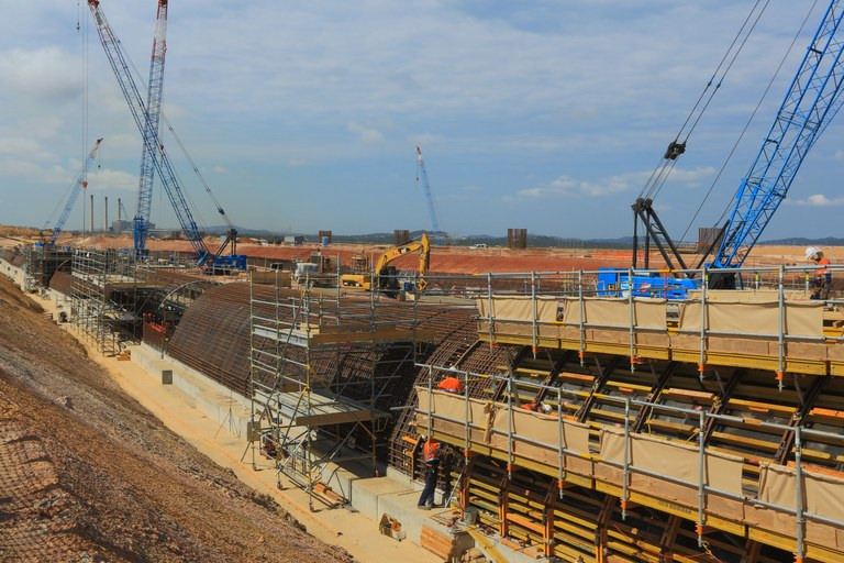 ULMA Construcción builds the Wiggins Island (Australia) coal exportation terminal