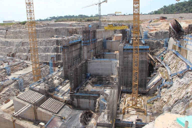 ULMA Construction at the Teles Pires hydroelectric power plant in Brazil