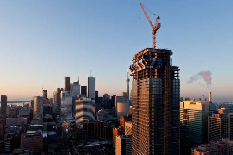 ULMA Construction in the highest residential building in Canada
