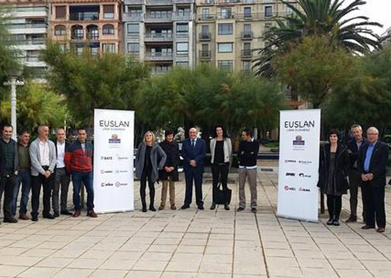 ULMA Construction participates in the Euslan programme with a commitment to encourage the use of Basque