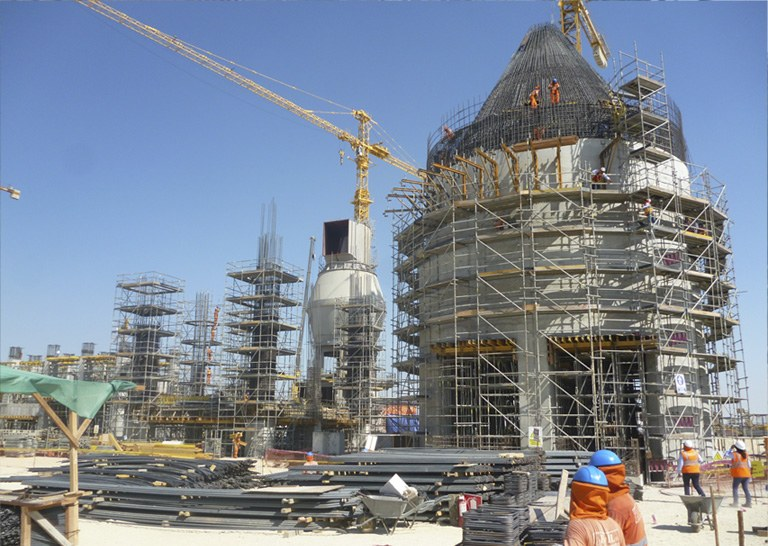 ULMA Construction participates in the modernization project of Pacasmayo cement plant located in Peru.