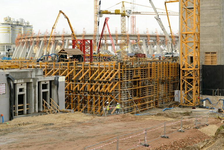 ULMA Construction provides solutions for the Kozienice Power Station in Poland