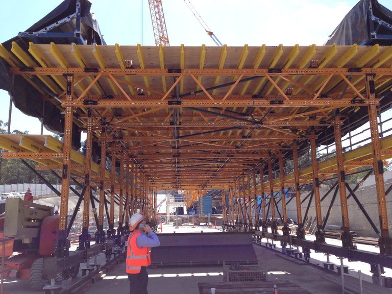 ULMA Construction&UNI-SPAN alliance succeeds again in Australia
