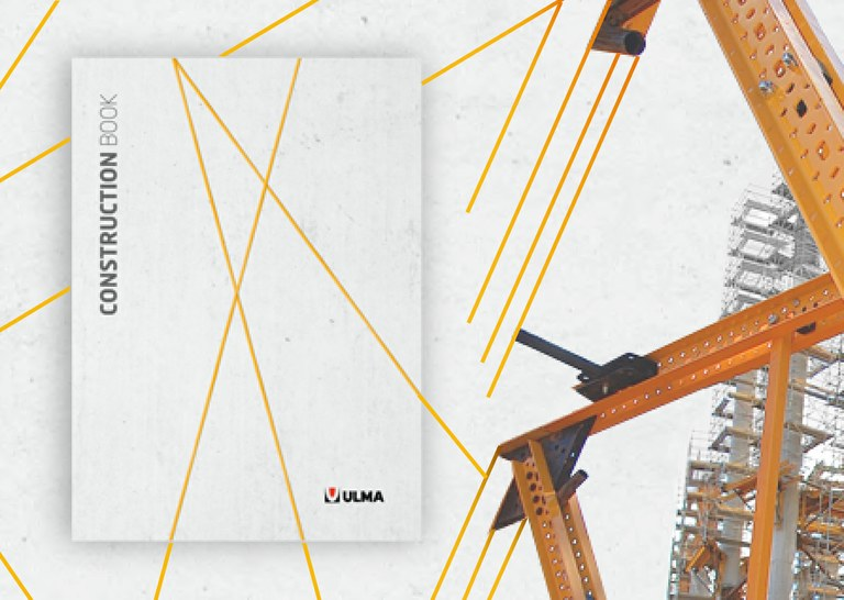 ULMA Construction updates its corporate identity with a new general catalogue