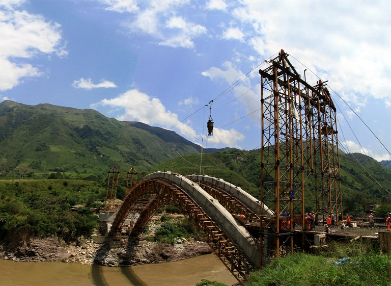 ULMA Construction's MK Systems bridging distances in Peru