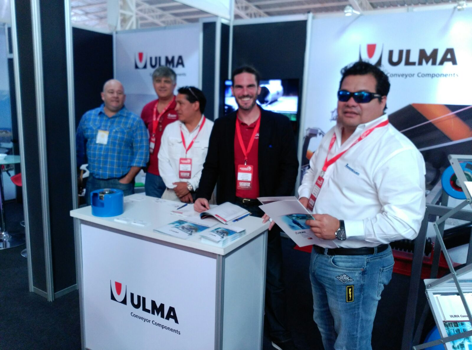 ULMA Conveyor Components at the EXPONOR 2017 Show