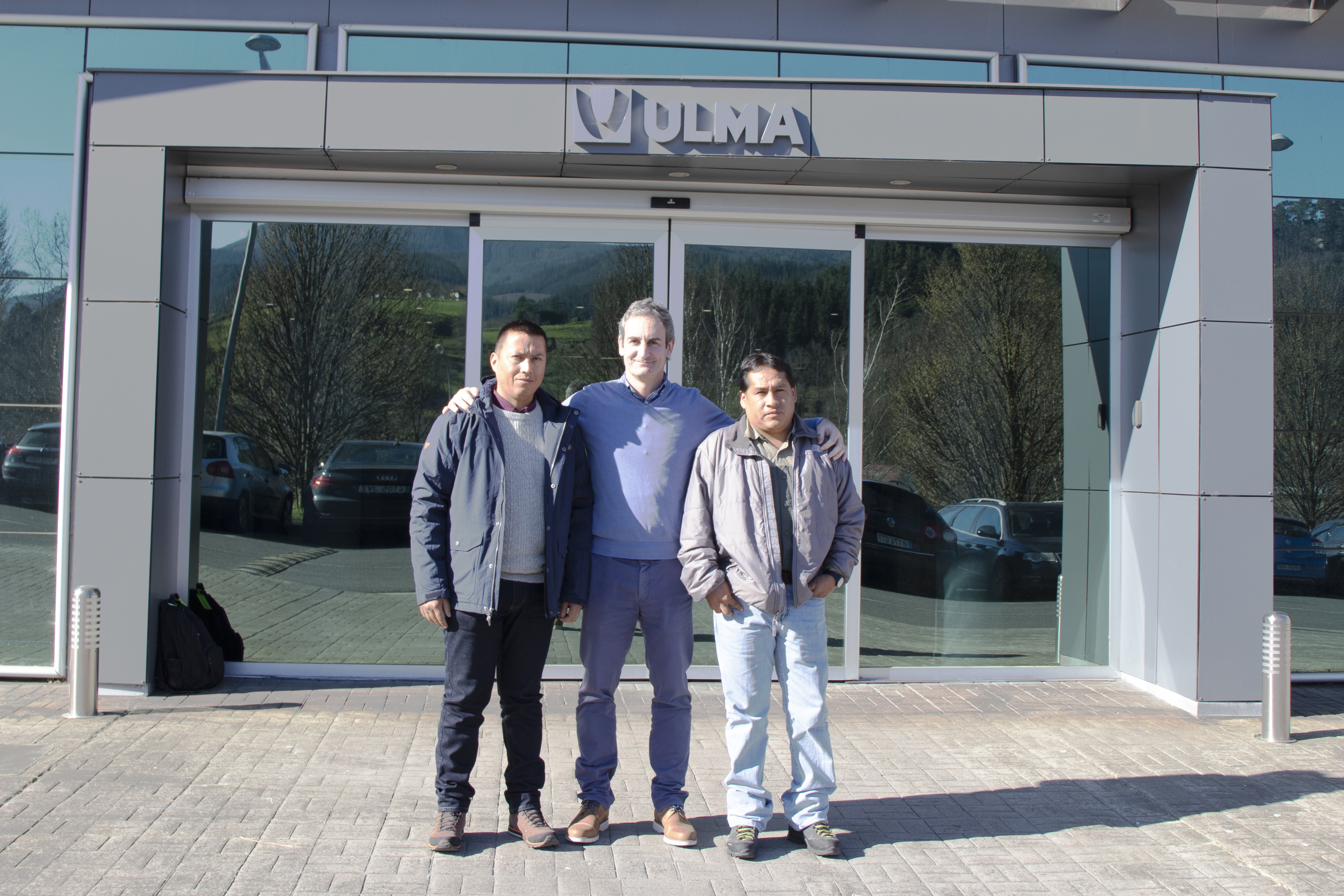 ULMA Conveyor Components Peru visits the ULMA Group