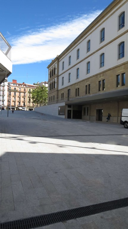 ULMA drainage channels for the restoration of the Tabakalera building in Donostia