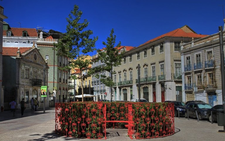 ULMA drainage in restoration of Lisbon city centre