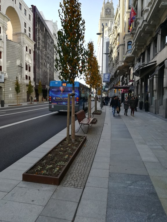 ULMA drainage solution in the new Gran Vía, in Madrid