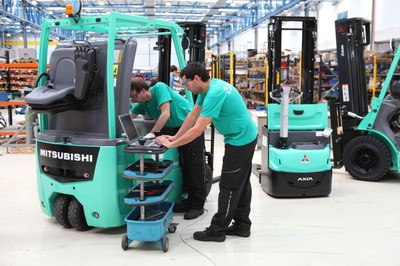 ULMA Forklift Trucks continues to bet on the quality of its maintenance service