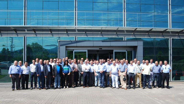 Ulma Forklift Trucks holds its 2014 Annual Sales Convention with unprecedented attendance