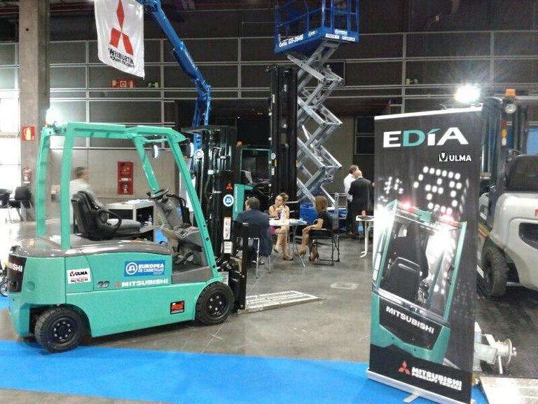 ULMA Forklift Trucks in ENCAJA 2013