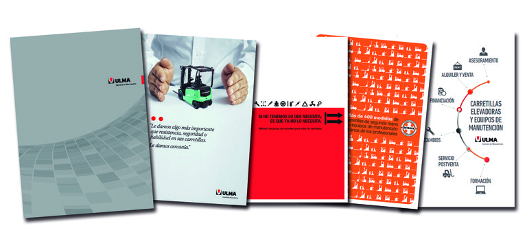 ULMA Forklift Trucks launches new corporate catalogue