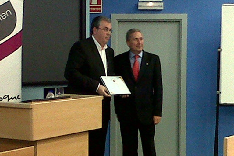ULMA Group receives the GOSASUN stamp in recognition of their work in fostering occupational health