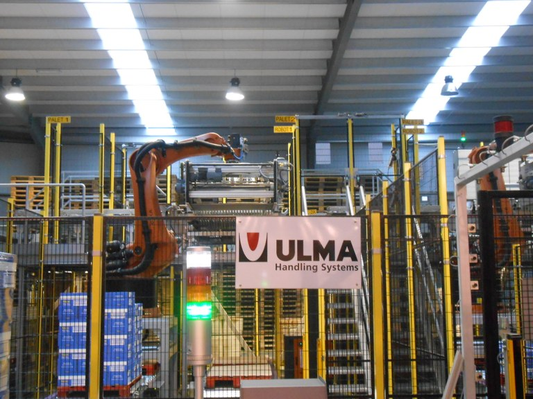 ULMA Handling Systems is working on a project for FRISCOS to automate 90% of its production