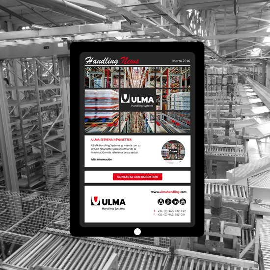ULMA Handling Systems launches its Newsletter